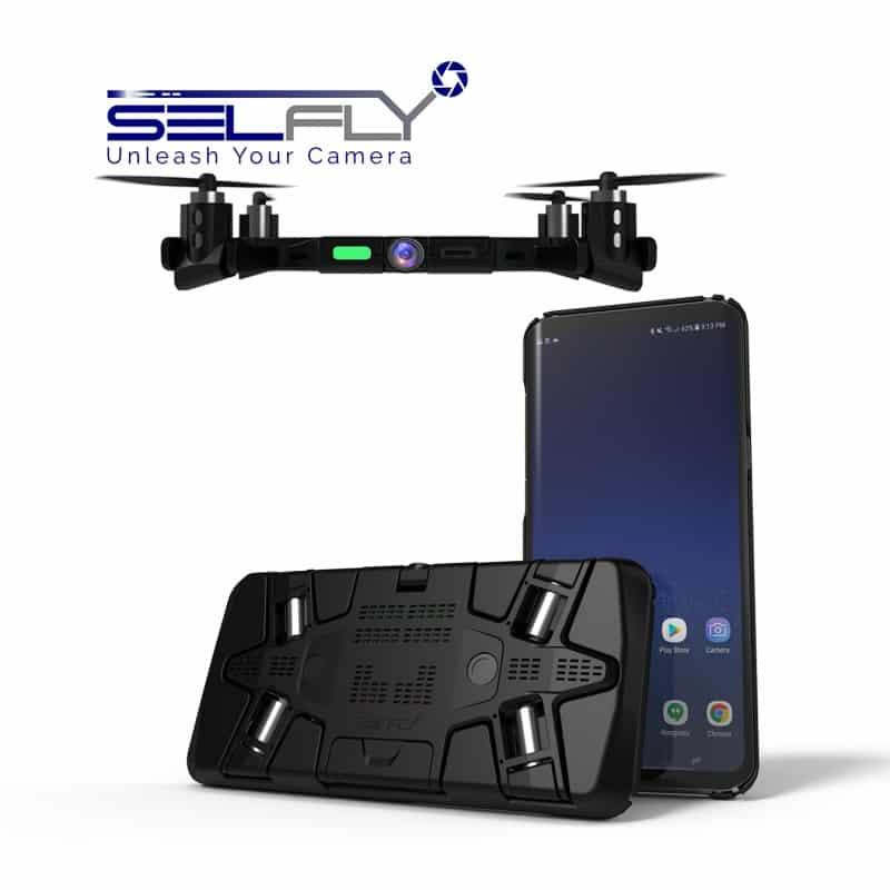 Capa para smartphone que é na verdade um Drone.