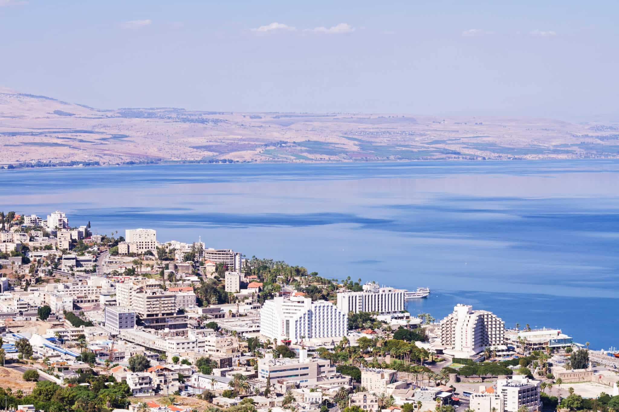 Israel um dia nas terras da Galiléia.