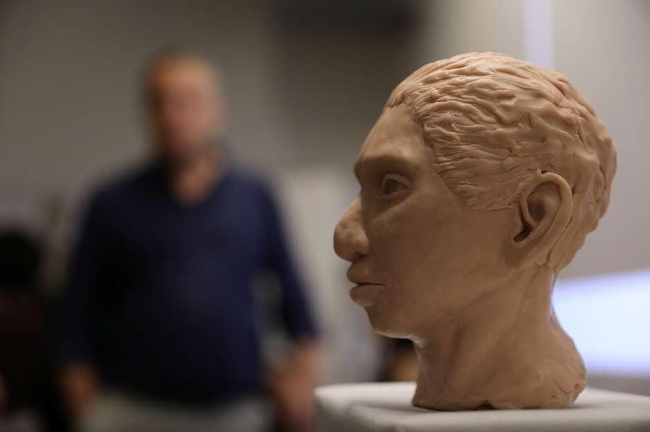Cientistas reconstroem esqueleto
