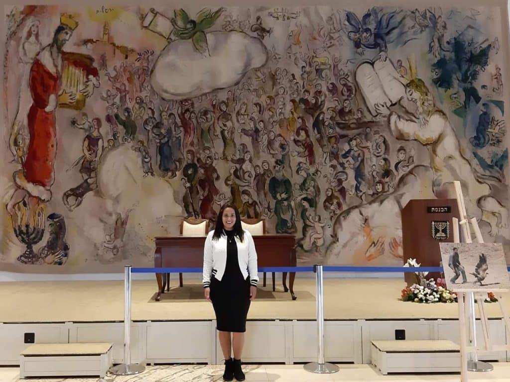o Parlamento de Israel