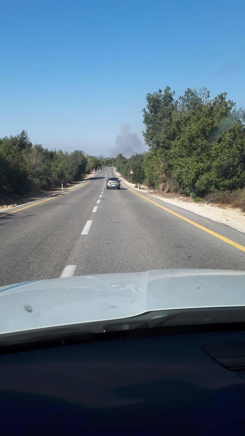 Primeiras informações: Disparos de Artilharia Antiaérea no norte de Israel.