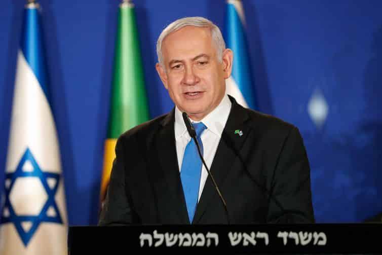 Disparo de míssil faz Netanyahu deixar comício em Israel