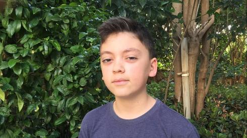 Um adolescente israelense