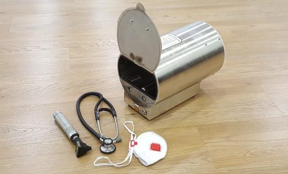 Dispositivo de purificação de água ajuda a desinfetar equipamentos médicos