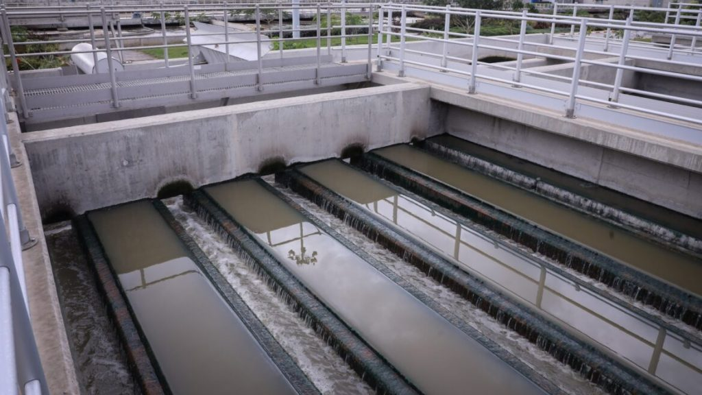 As águas residuais de Israel