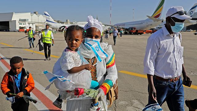 Em uma data especial, 119 etíopes chegaram a Israel