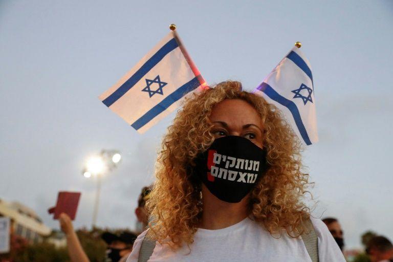Milhares protestaram em Israel contra gestão da pandemia pelo governo
