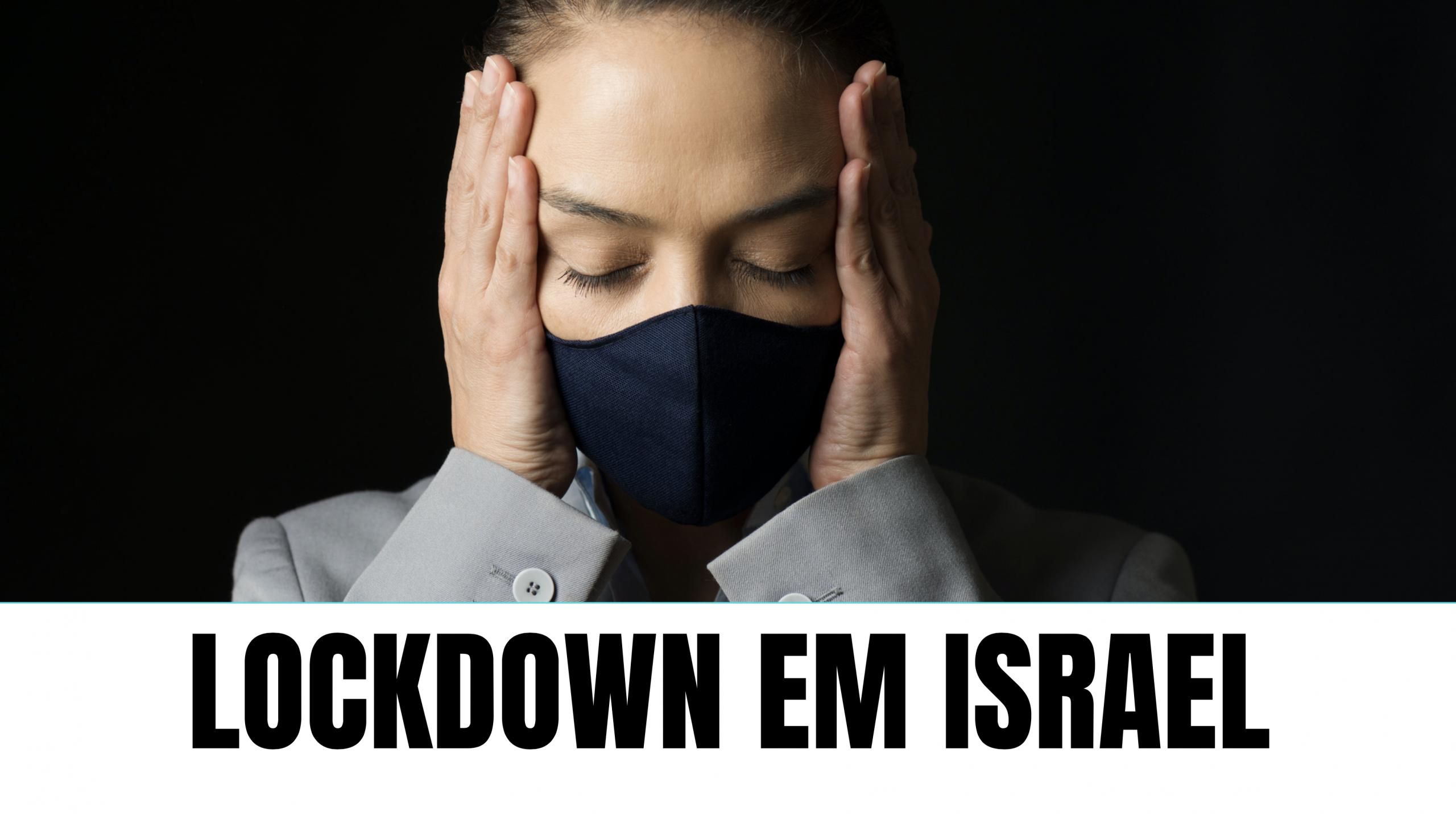 Israel volta ao confinamento em plena temporada de festas judaicas