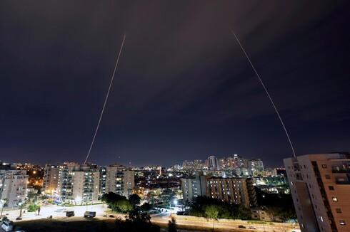 Dois mísseis foram disparados de Gaza.