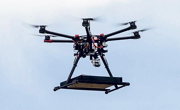 Drones de entrega são uma realidade em Israel