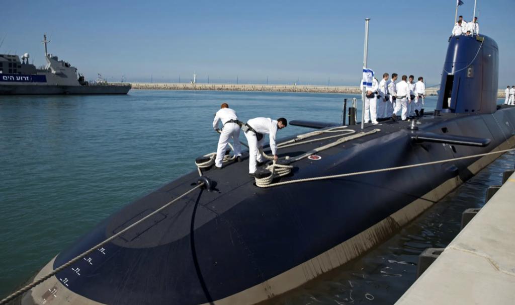 submarino israelense