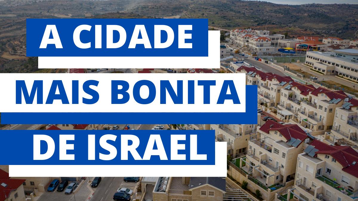 A cidade mais bonita de Israel