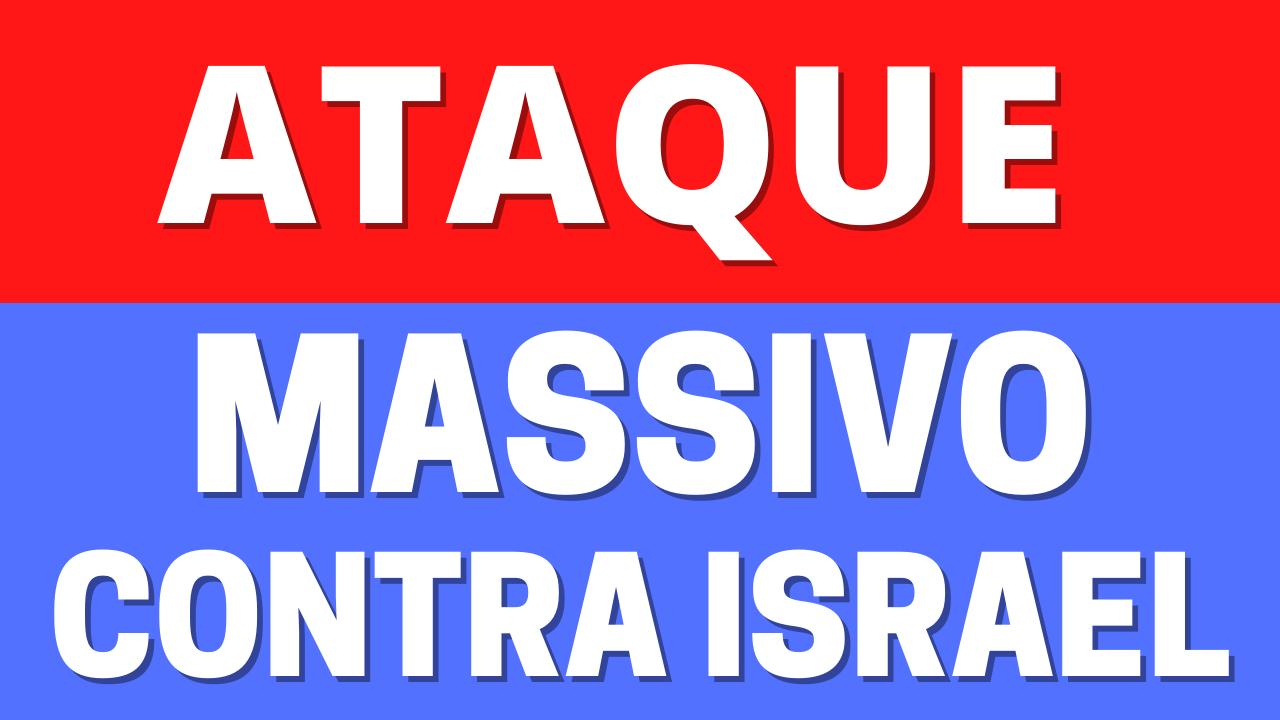 Ataque massivo ao centro de Israel