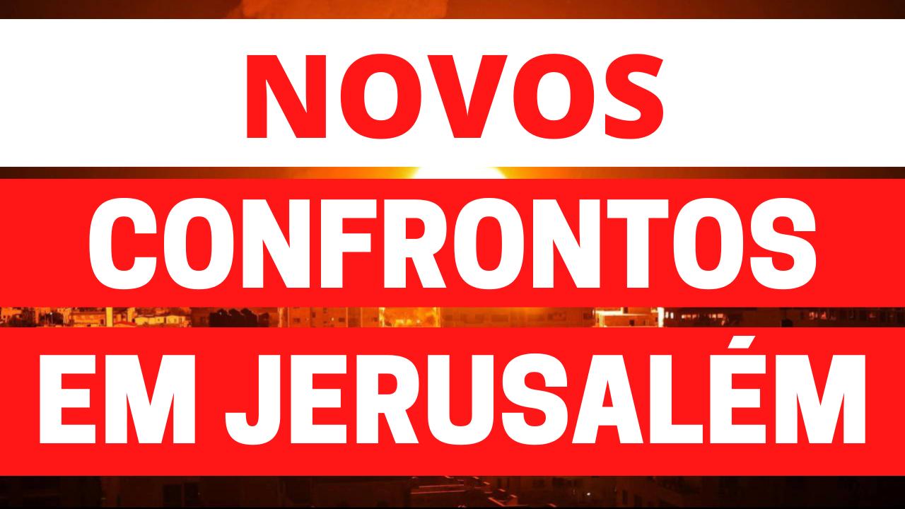Novos confrontos em Israel