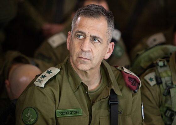 Após funeral de soldado, chefe das FDI alerta para possível escalada