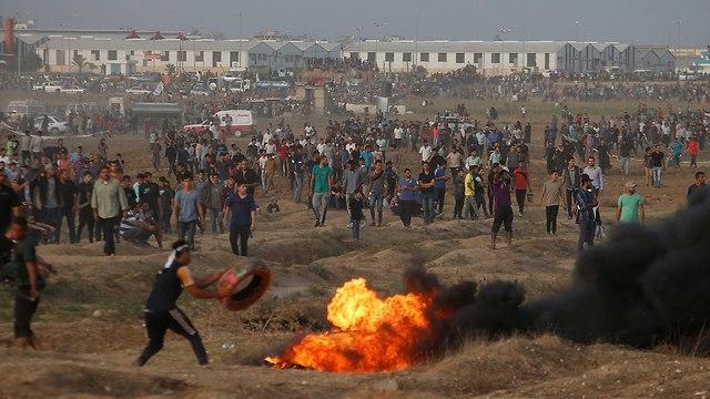 fronteira com Gaza
